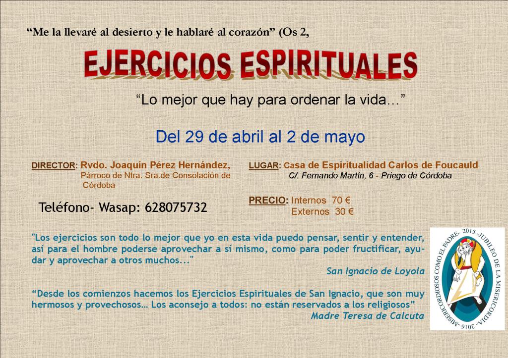 cartel ejercicios blog